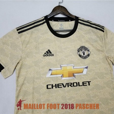 maillot manchester united 2019-2020 exterieur