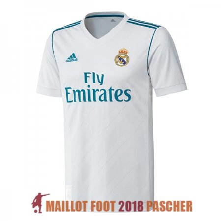 maillot real madrid retro 2017-2018 domicile