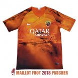 maillot as roma edition speciale 2018-2019 orange