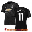 maillot manchester united martial 2017-2018 exterieur