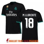 maillot real madrid marcos llorente 2017-2018 exterieur