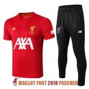 polo ensemble complet liverpool formation 2019-2020 rouge