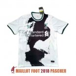 maillot liverpool formation 2020-2021 noir blanc
