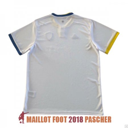maillot leeds united edition speciale 2020-2021 blanc jaune bleu