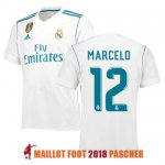 maillot real madrid marcelo 2017-2018 domicile