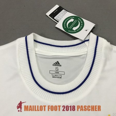 maillot real madrid collecteur edition blanc