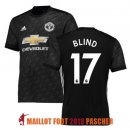 maillot manchester united blind 2017-2018 exterieur
