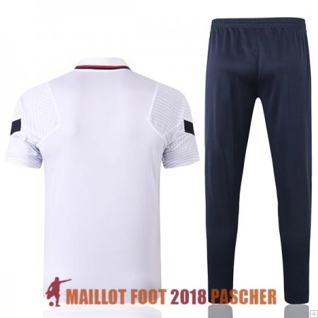 polo ensemble complet france formation 2020-2021 B blanc