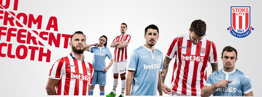 maillot stoke city pas cher